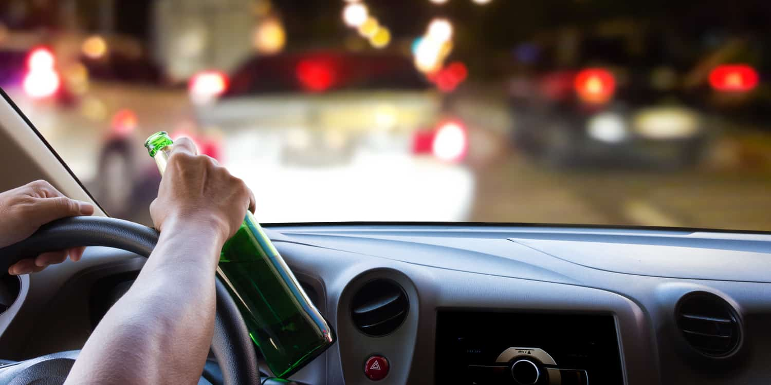A person drinking and driving, which maybe possible to reduce to a wet reckless charge